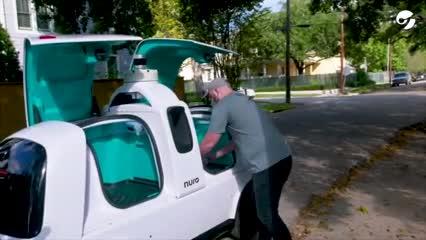 Video: Delivery de pizza en Houston