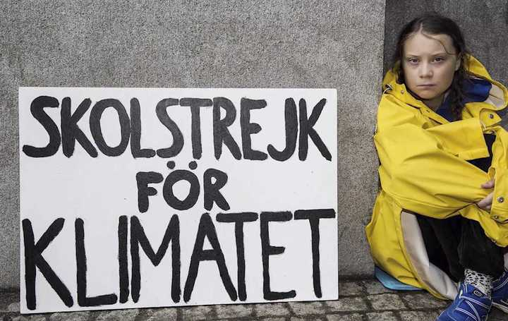 Video:  Greta Thunberg y la marcha global contra el cambio climático.