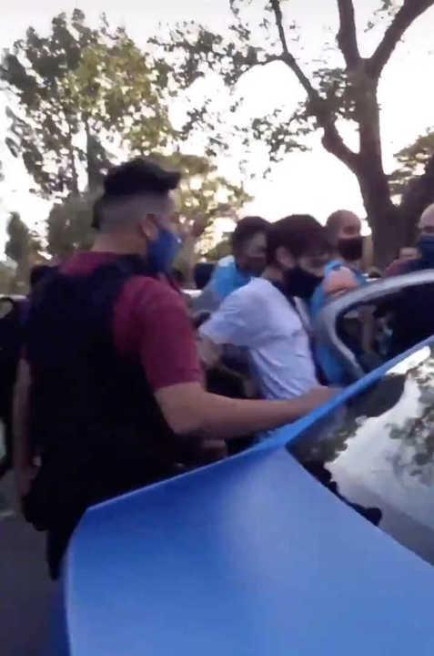 Video: Gabino Silva es un reconocido Youtuber en el momento en que es detenido en el Planetario