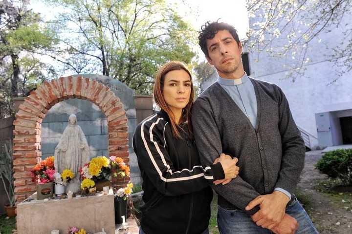 Video.  Agustina Cherri y Esteban Lamothe en un juego de espejos sobre el próximo estreno de Polka