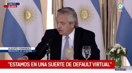 Video: Alberto Fernández sobre el pago de la deuda externa ...