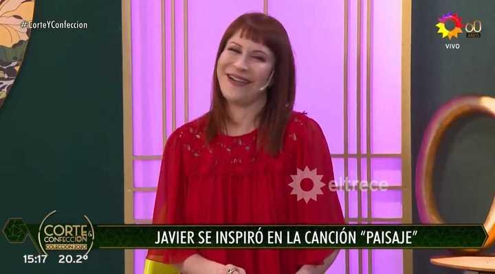 Video El Enojo De Matilda Con Un Participante De Corte Y Confeccion 03 08 2020 Clarin Com