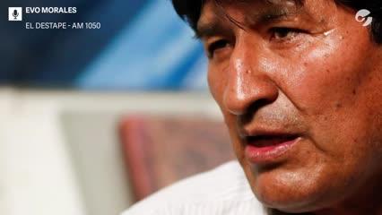 Video: Evo habló de las elecciones de Bolivia, de Alberto Fernández y de Estados Unidos