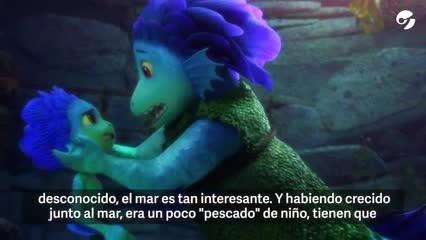 """Video: entrevista exclusiva a Enrico Casarosa, el director de """"Luca"""", estreno de Pixar por Disney+"""