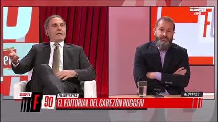 Video: la chicana de Oscar Ruggeri para Roberto Baradel