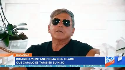 Video: Ricardo Montaner y una frase polémica sobre Stefi Roitman