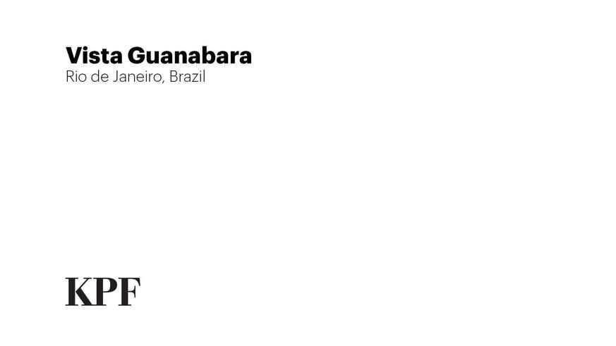 Vista Guanabara. Proyecto de KPF para Río de Janeiro, Brasil