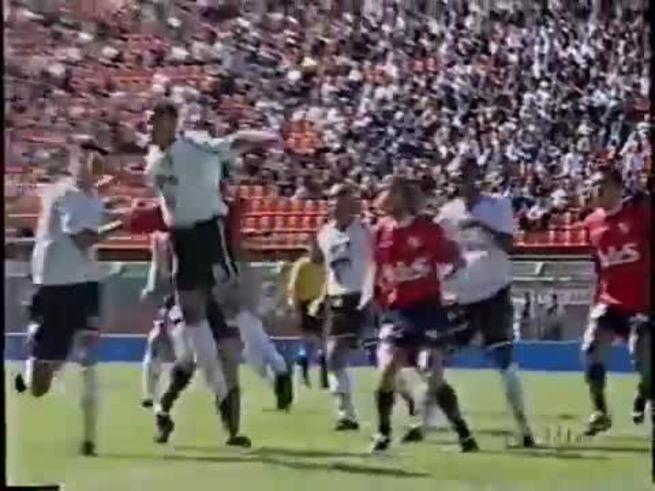 Corinthians-Independiente, en la Mercosur 2001