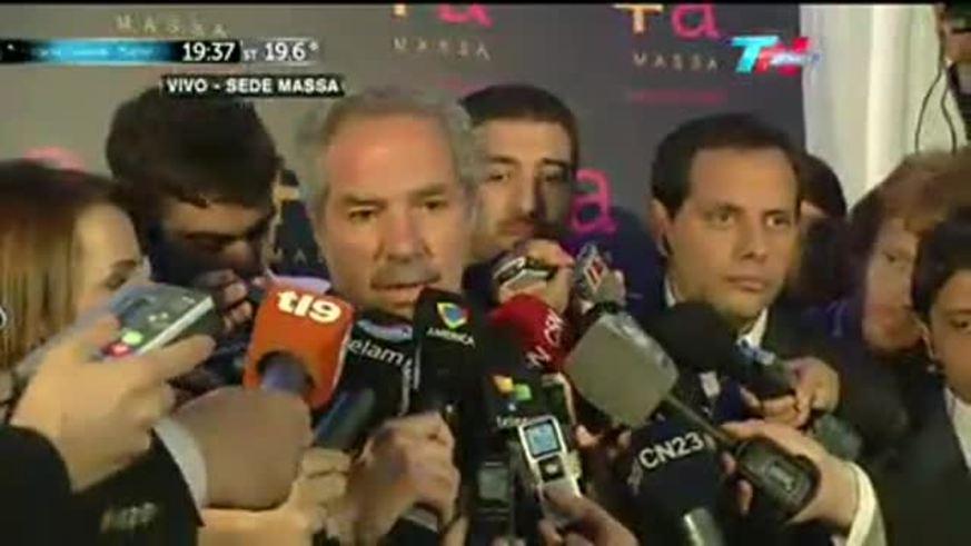 Felipe Solá será diputado por el Frente Renovador de Sergio Massa. (Fuente: TN)