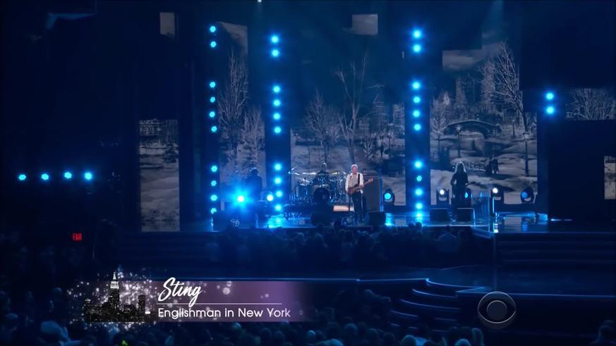 """Sting y su ya clásico """"Englishman in New York"""" en la 60° edición de los Premios Grammy"""