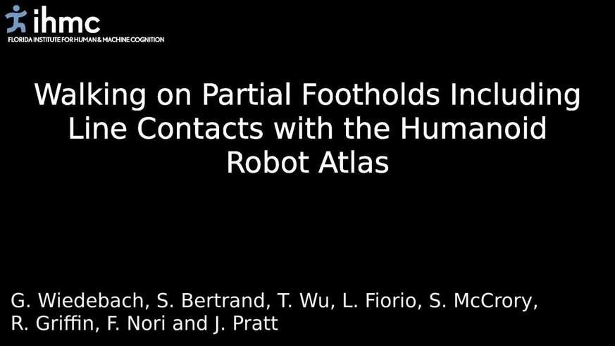 Atlas, el robot humanoide de Google, aprendió a mantenerse en equilibro