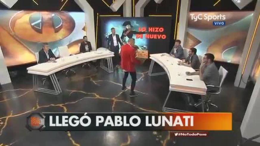 Lunati explotó en No Todo Pasa