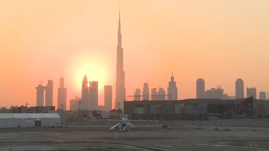 El primer taxi dron del mundo completó su viaje sin personas a bordo