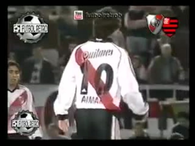 River vs Flamengo, en la Mercosur 2000