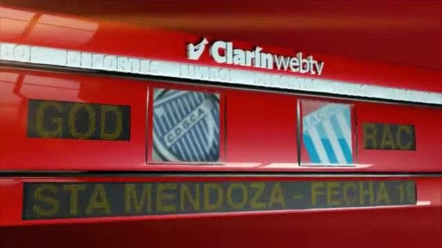 Godoy Cruz 1 - Racing 1