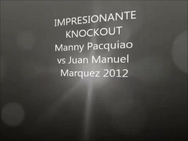 El KO de Juan Manuel Marquez a Manny Pacquiao. (YouTube)