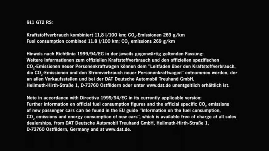 Porsche 911 GTS RS