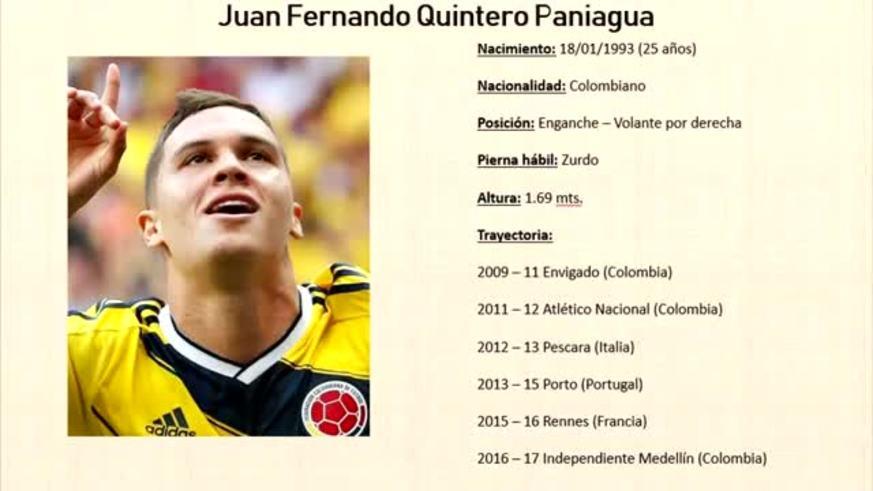 Así juega Juan Fernando Quintero. (Pasión Monumental)
