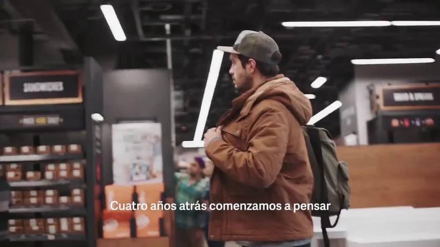 Amazon Go, el primer supermercado donde los usuarios podrán llevarse directamente los productos sin pasar por las cajas