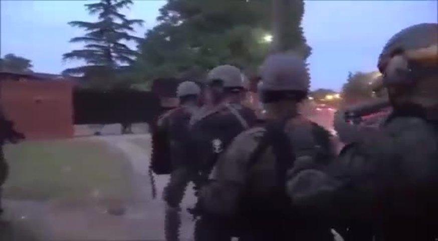 El ataque a balazos del Polaco Petrov contra efectivos de la Policía.