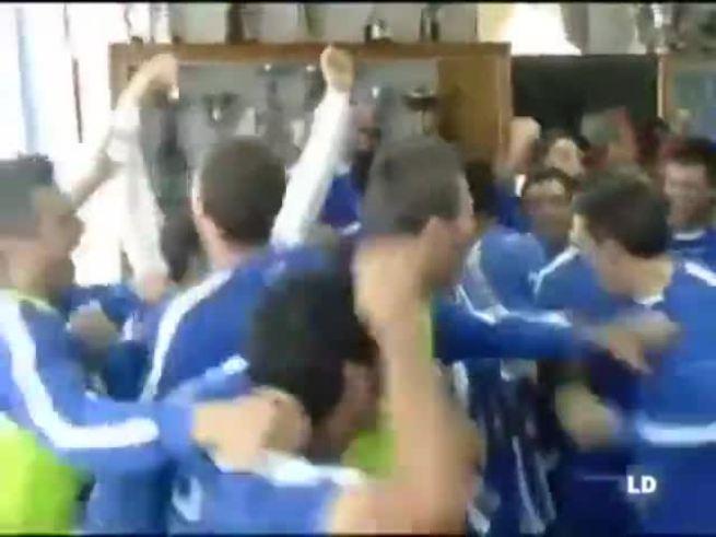 Alcoyano festejó que enfrentará al Real Madrid por la Copa del Rey.