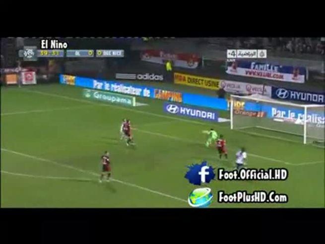 Mirá el gol del Licha López en el triunfo del Lyon.
