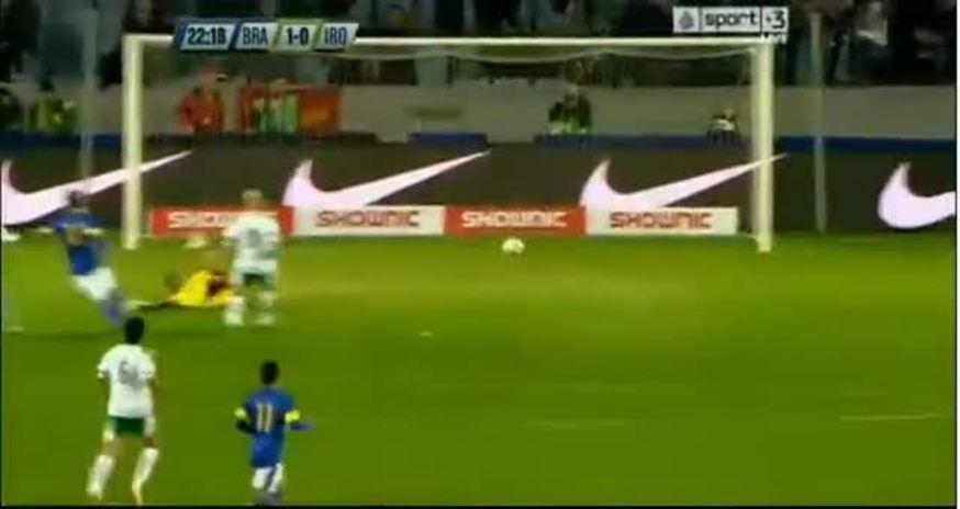 Mirá la goleada de Brasil, 6-0 a Irak.