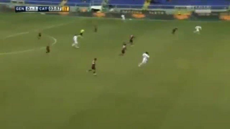 Asistencia del Papu y gol de Bergessio.