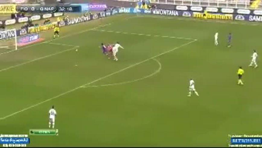 Mirá el insólito gol de Roncaglia.