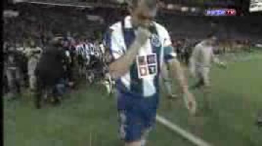 El día del debut de Messi en el Barcelona. vs Mourinho