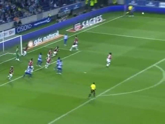 El gol de Otamendi en su debut en el Porto.