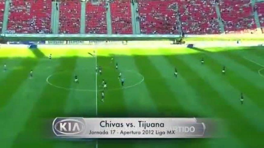 Mirá el gol rapidísimo de Alfredo Moreno contra Chivas.