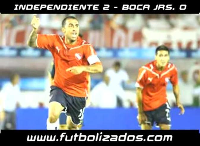Los goles de Rolfi Montenegro a Boca en 2009