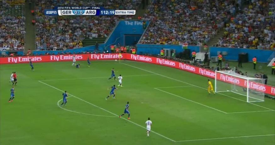 El gol de Gotze ante Argentina                                                   Con este tanto Mario Gotze consiguió que Alemania se quede con la Copa