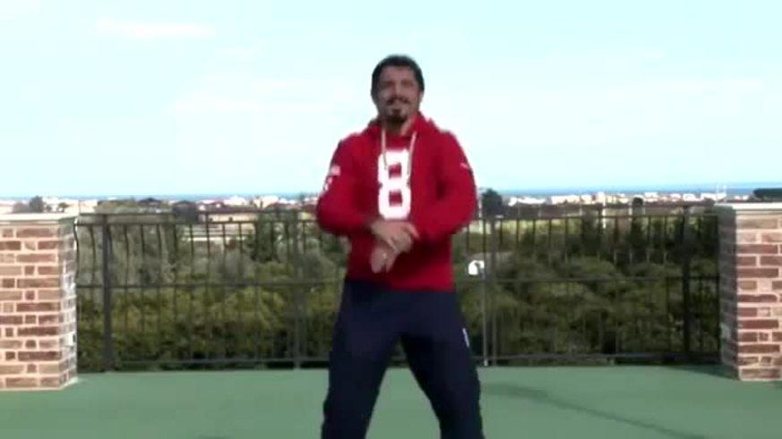 Mirá a Gatusso bailando el Gangnam Style.