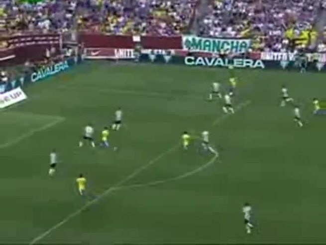 Los goles de Brasil 4 - EE.UU 1.
