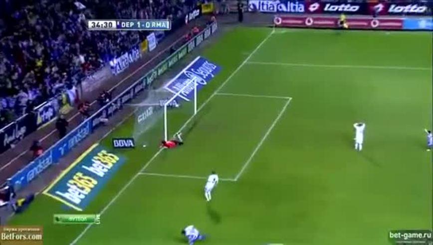 Mirá el gol de Riki al Real Madrid.