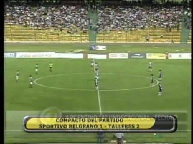 Mirá el resumen del polémico Sportivo Belgrano-Talleres.