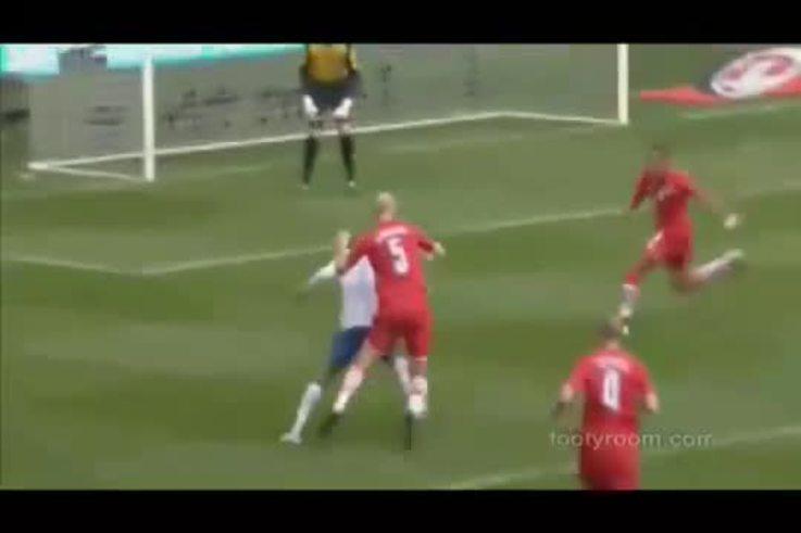 Los goles de Inglaterra a Gales.