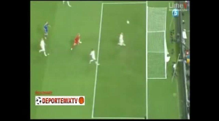 Mirá el gol fantasma que no le dieron a Ucrania.