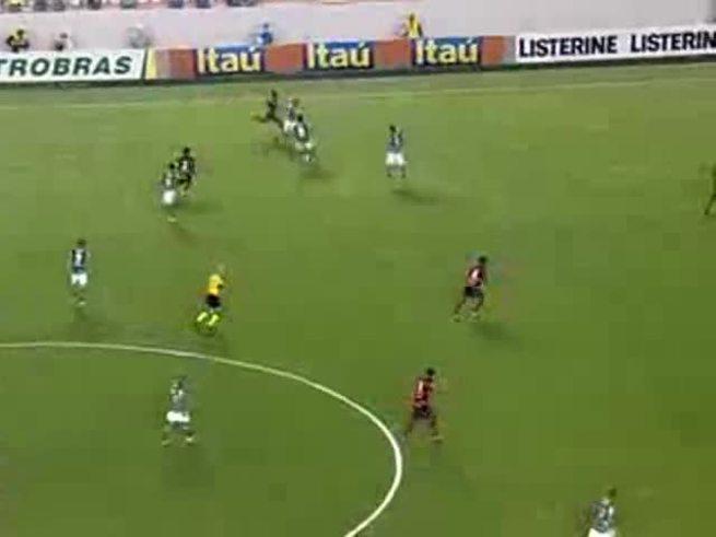 El gol de Barcos contra Flamengo.