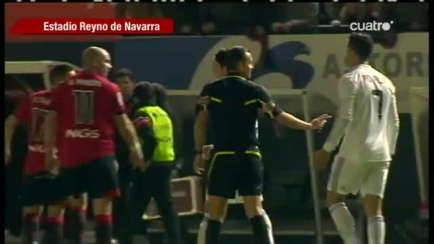 La pelea de Pandiani con Ronaldo (Cuatro de España)