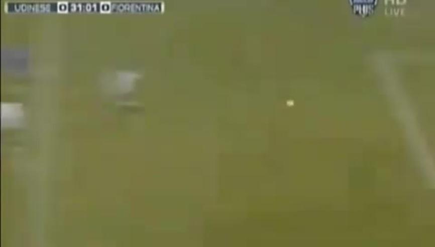 El golazo de zurda de Mario Santana. (Youtube)