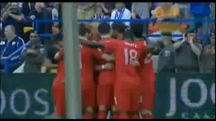 Los goles de Israel 3 - Portugal 3, por Eliminatorias.