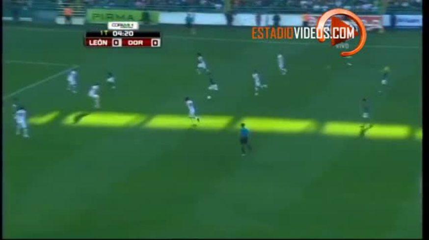 Los goles de Boselli en su debut en el León