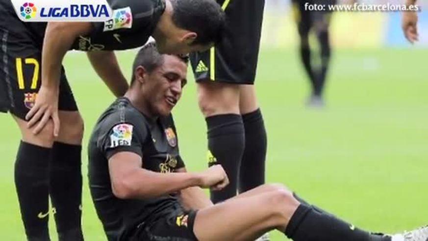 Las lesiones de Alexis Sánchez y su dieta a lo Messi.