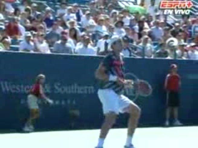 La lesión de Isner y el triunfo de David. (ESPN+)