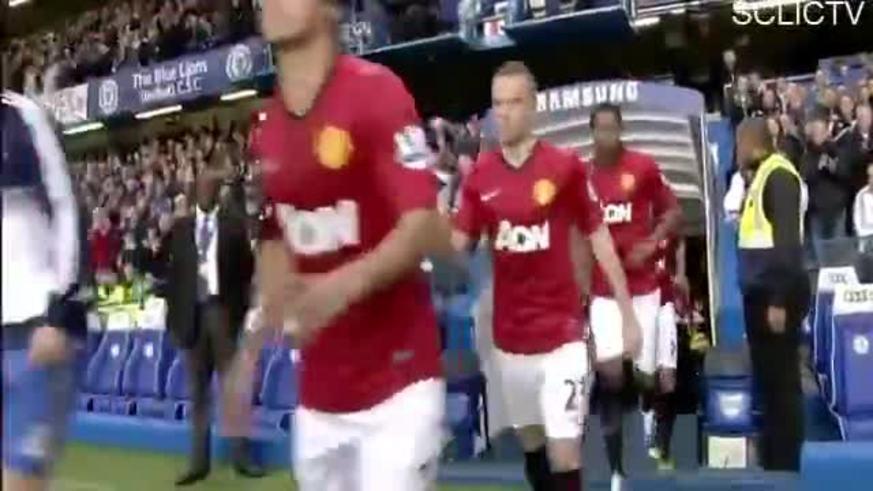 Mirá los goles de Chelsea 2 - Manchester United 3.