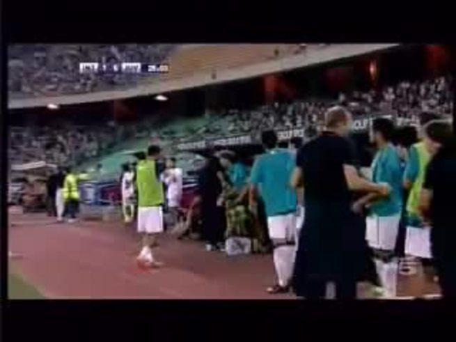 Sneijder clavó un golazo en el trofeo amistoso.