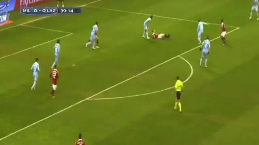 Mirá los goles de Milan 3 - Lazio 0.